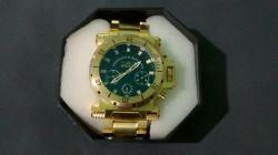 Relógio Invicta Dourado Masculino
