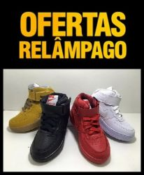 Tênis Botinha  Nike Air Force Unissex 38/ 39/ 41/ 43